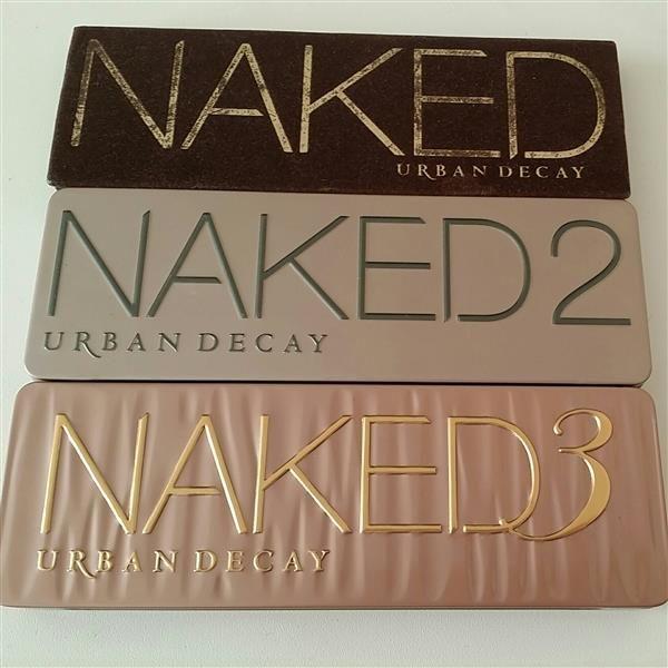 naked 1 2 and 3 by  Klaudia Woning