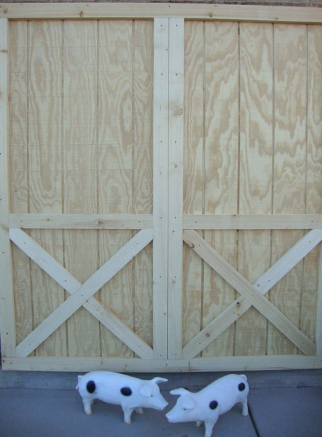 25 best images about garage project on pinterest for Sliding barn doors for patio