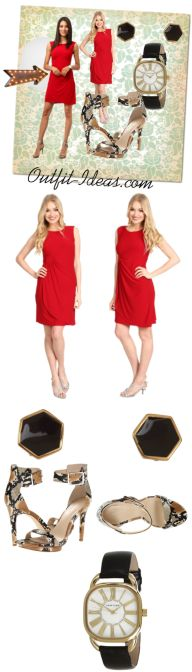 RED Outfit with dress - DY OR NOT
