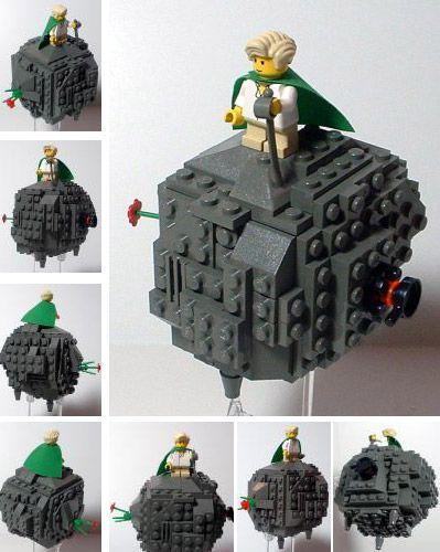 Mały Książę z klocków Lego