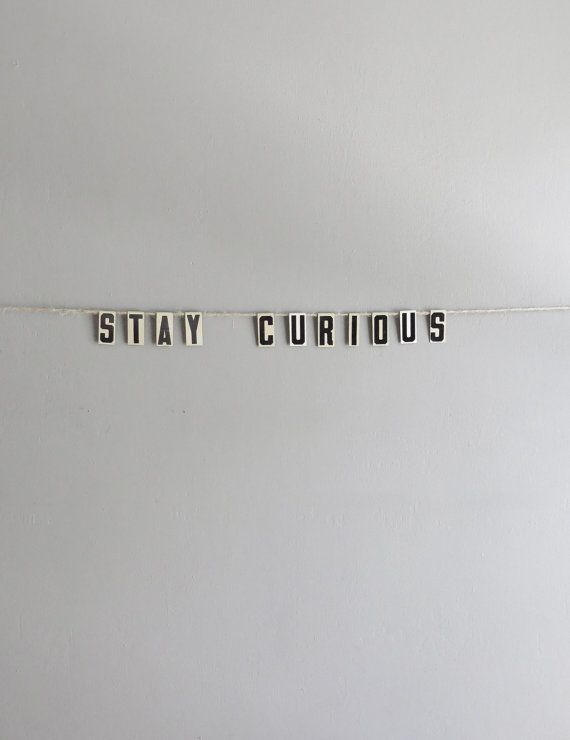 .stay curious :)