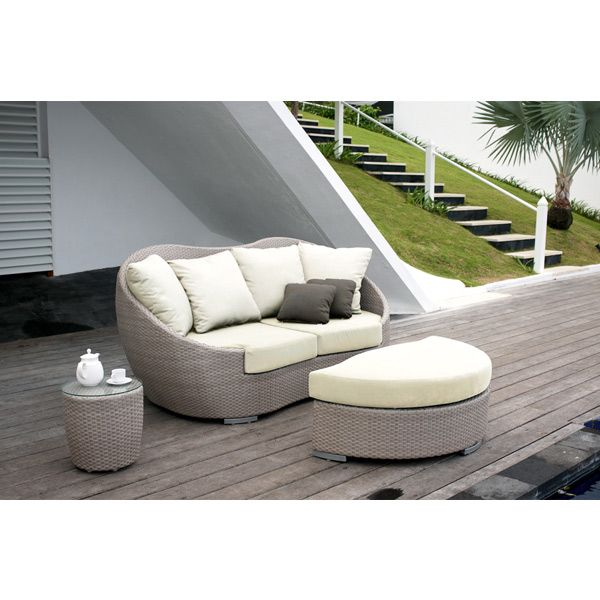 The Mango Outdoor Daybed Features A Unique And Elegant Design, Indicative  Of The Innovation And Quality That Has Made Skyline Design The Leader In  Luxury ...