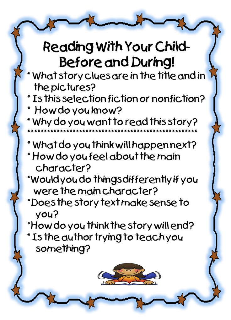 Who was the first person to ever read a book to you? Do the same for your children... and then some. Talk about what you read. Connect the book's content to your child's life.  Help your child connect with the text.  You'll begin a lifetime of loving to read.