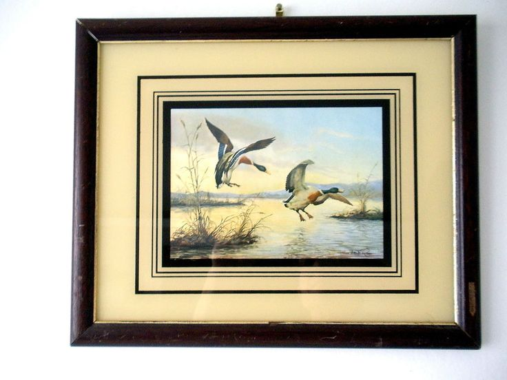Tableau Vicente Roso - Canards - Reproduction