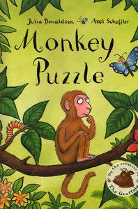 Monkey Puzzle - book, teaching resources, story, card, mats