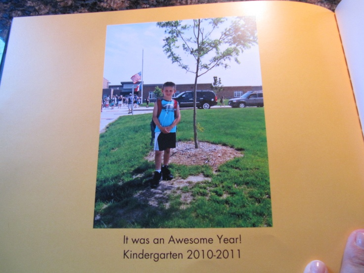A neat way to save your kids school work. Make a photo book, then toss the paper. You have a permanent keepsake without all the clutter. I do this every year for my kids.
