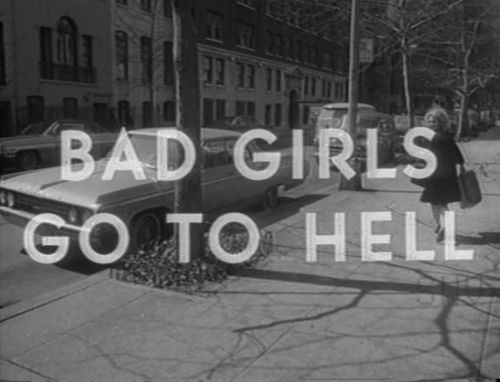 bad girls go to hell with satan