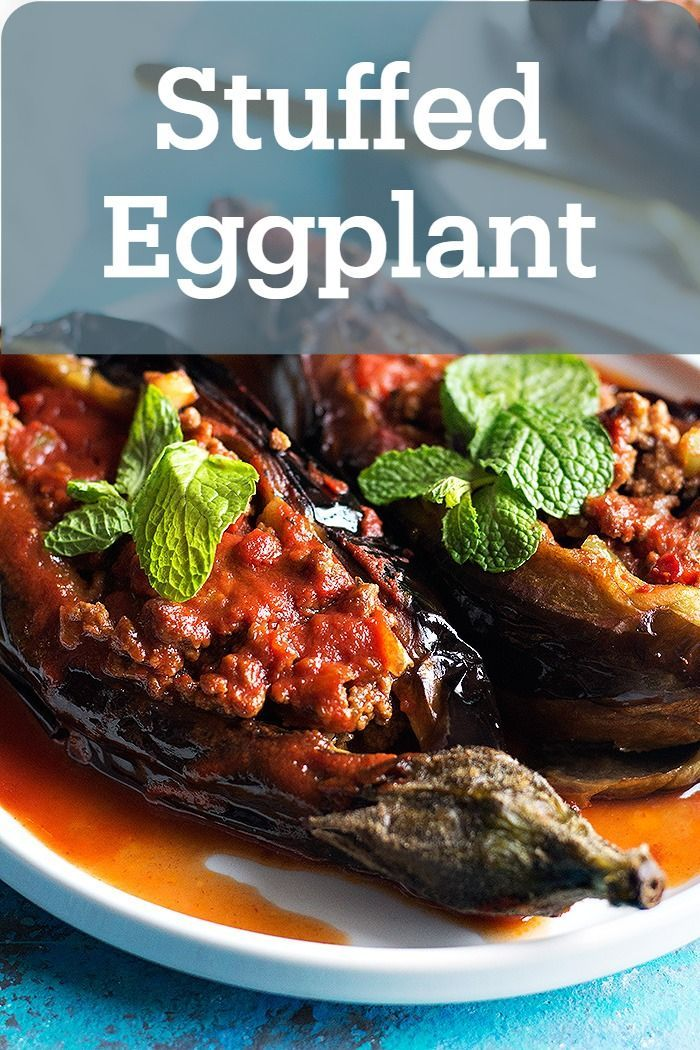 Karniyarik Turkish Stuffed Eggplant Video Unicorns In The Kitchen In 2020 Eggplant Recipes Eggplant Recipes Healthy Eggplant Recipes Easy