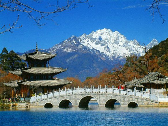 Jade Dragon Snow Mountain, one of the 'Top 10 attractions in Yunnan, China' by China.org.cn.