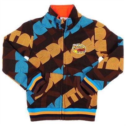 boys clothing skootz kidswear Jacket-SN2-AJ3262-C-BroBluOra $20.00 on Ozsale.com.au