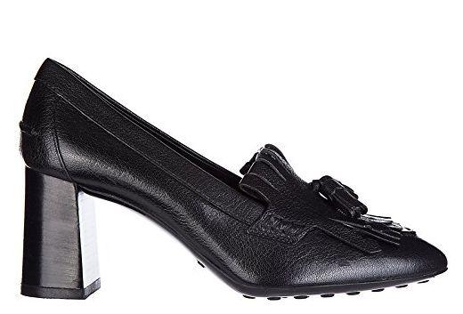 Tod's Damenschuhe Leder Pumps mit Absatz High Heels t70 Schwarz EU 40 XXW0ZM0R820E4VB999 - Damen pumps (*Partner-Link)