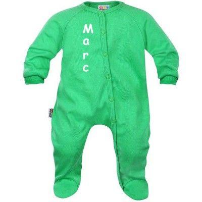 Pyjama bébé avec PRÉNOM de votre bébé (7 coloris)