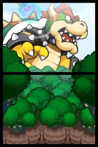 Mario and Luigi: Bowser's Inside Story- Bowser as a giant was one of the most fun elements of this game. :D