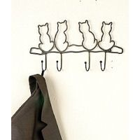 Cat wall hanger ❤️ ★ Learn about #cats & Get cute #cat #stationery at Ozzi Cat: Cat Magazine & Cat Stationery! Visit Now >> http://OzziCat.com.au ★ ❤️