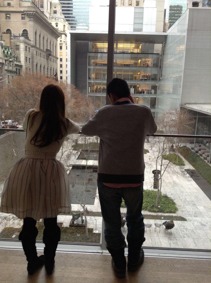 We love MOMA courtyard