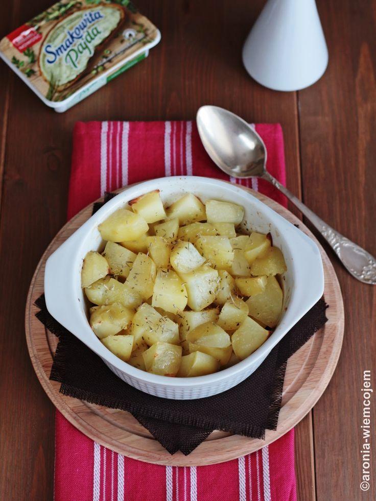 Wiem co jem - Pieczone ziemniaki z rozmarynem