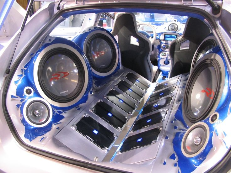 Alpine car sound system