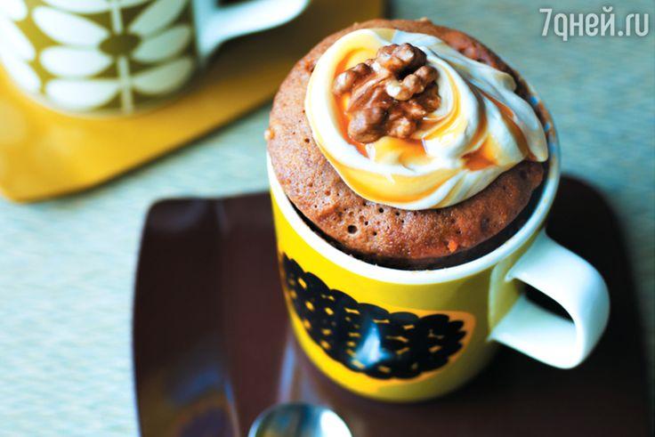 Кофейный кекс с грецкими орехами: рецепт от кондитера Мимы Синклер