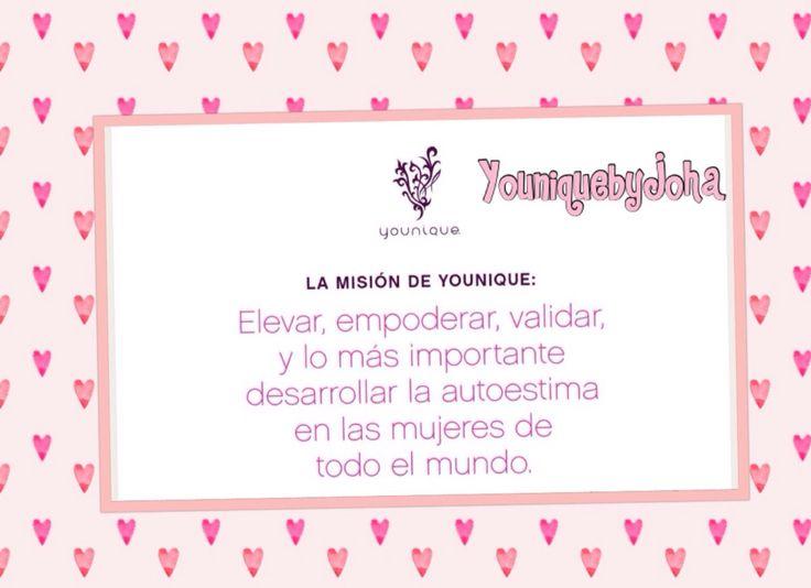 Nuestra misión en Younique España... Ya falta poco si deseas reservar, comprar o formar parte de mi equipo, escribeme y forma parte de esta increible compañia  #youniquebyjoha #youniqueliteespaña