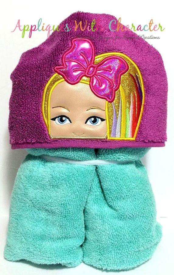 b7e25b296 Jo Rainbow Hair Peeker Applique Design | Peekers | Applique designs ...