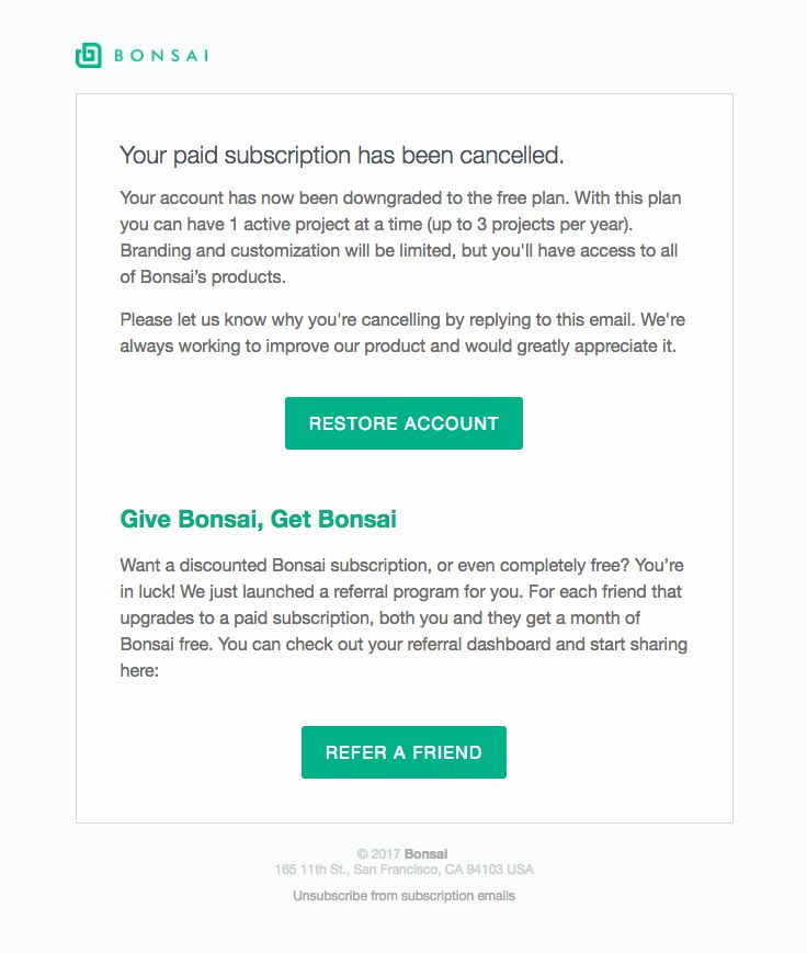 8 best Deactivation Emails images on Pinterest Cosmos, Email - sending invoices by email
