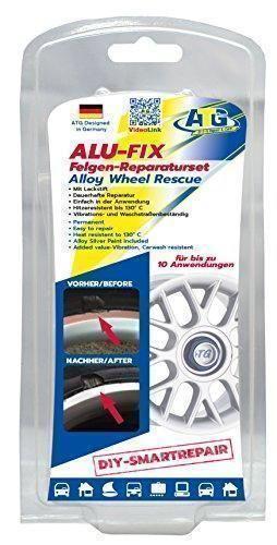 Oferta: 24.95€. Comprar Ofertas de ATG ALU-FIX Set de reparación de llantas - Masilla especial para llantas de aluminio y de acero en caso de daños en la superf barato. ¡Mira las ofertas!