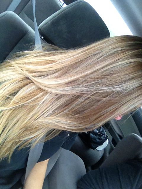 Full Head Highlights Hair Pinterest Highlights Balayage And Full Head Highlights