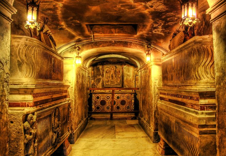 A secret crypt under a church near Pompeii. from Trey Ratcliff at http://www.StuckInCustoms.com - all images Creative Commons Noncommercial