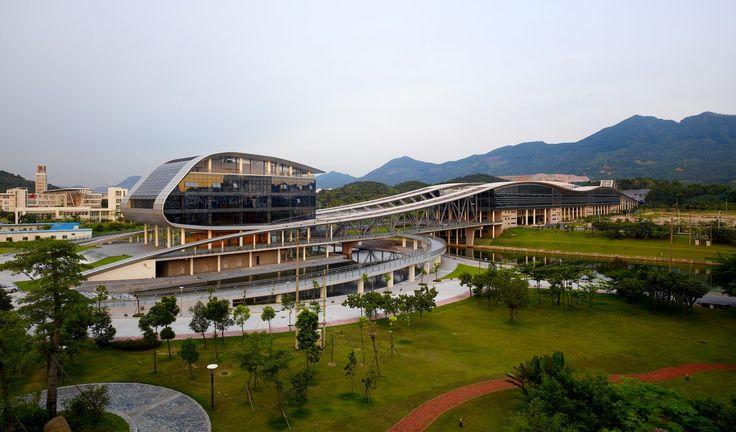 University Library Building Shenzhen