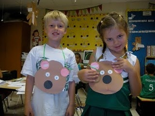 Brown Bear purses - sequence the characters inside!