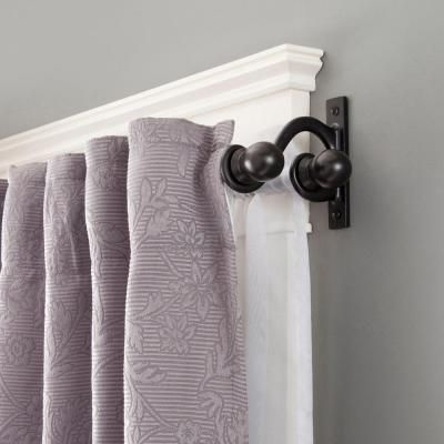 17 Best ideas about Double Curtain Rods on Pinterest   Double ...