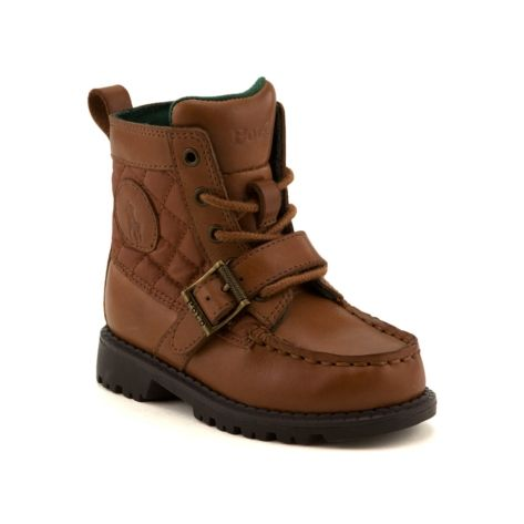 shop for toddler ranger hi ii boot by polo ralph in