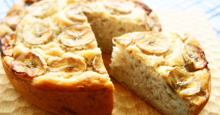 お砂糖ゼロで優しい甘さのバナナケーキです♡バター・卵・牛乳なし!アクアケーキID : 3696794のアレンジレシピです