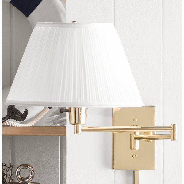 Devin 1 Light Swing Arm Lamp Swing Arm Lamp Swing Arm Wall Lamps Lamp