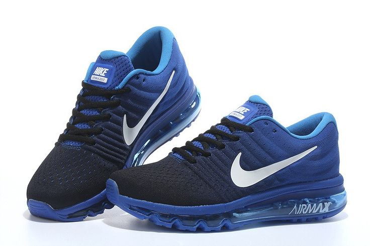 Nike Air Max 2017 Mesh Women Men Black Blue