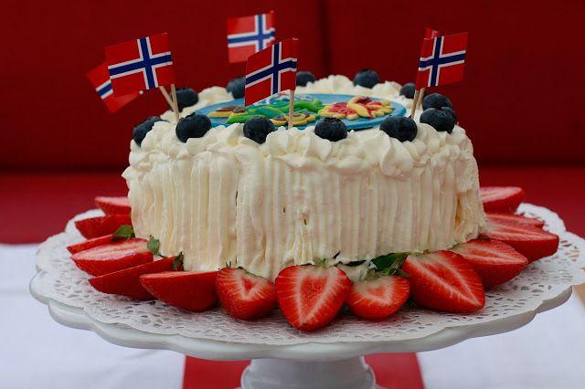 Gry´s Kjøkkenskriverier: 17.mai kake