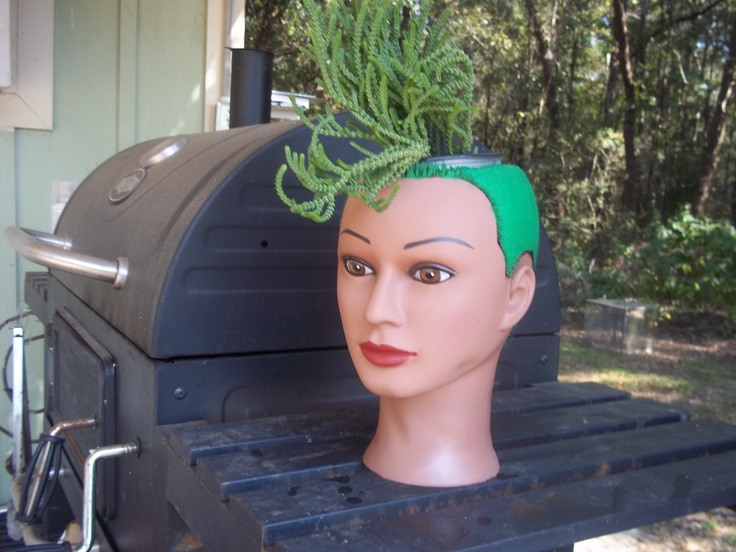 Hair Styling Mannequin Head: 250 Best Images About Mannequins And Dolls In The Garden
