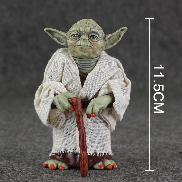 12cm star wars jedi knight master yoda action figure pvc collection model dolls toys for christmas