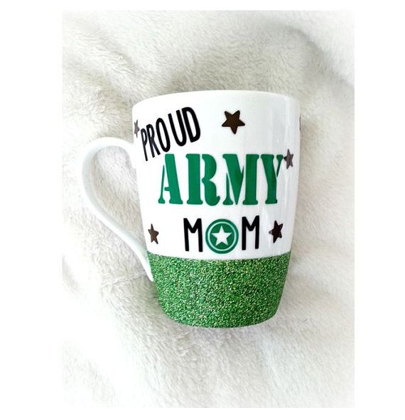 Proud Army Mom I Love My Soldier Military Mom by LoveInTheCityShop