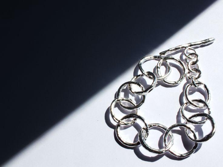 #Sterling #silver #bracelet #handmade #jewelry www.facebook.com/gioiellifenzl