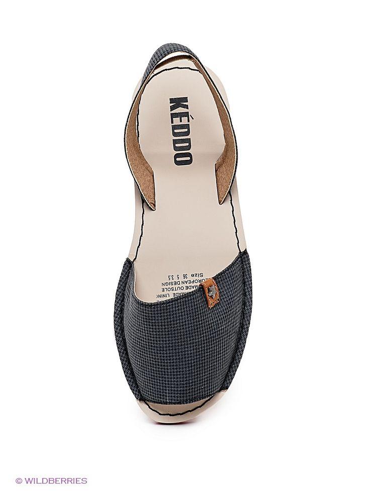 Сандалии KEDDO. Цвет темно-серый. Есть отзывы покупателей. Удобные сандалии станут незаменимы в Вашем летнем гардеробе - интернет-магазин Wildberries.ru
