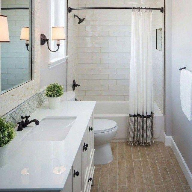 40 Affordable Bathroom Remodel Design Ideas Homyfeed Affordable Bathroom Desi In 2020 Affordable Bathroom Remodel Tub Shower Combo Remodel Bathroom Remodel Cost