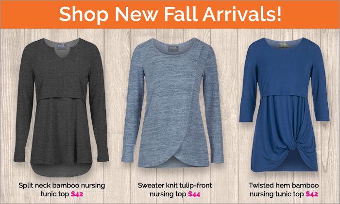 Shop New Fall Stylish Nursing Top Arrivals