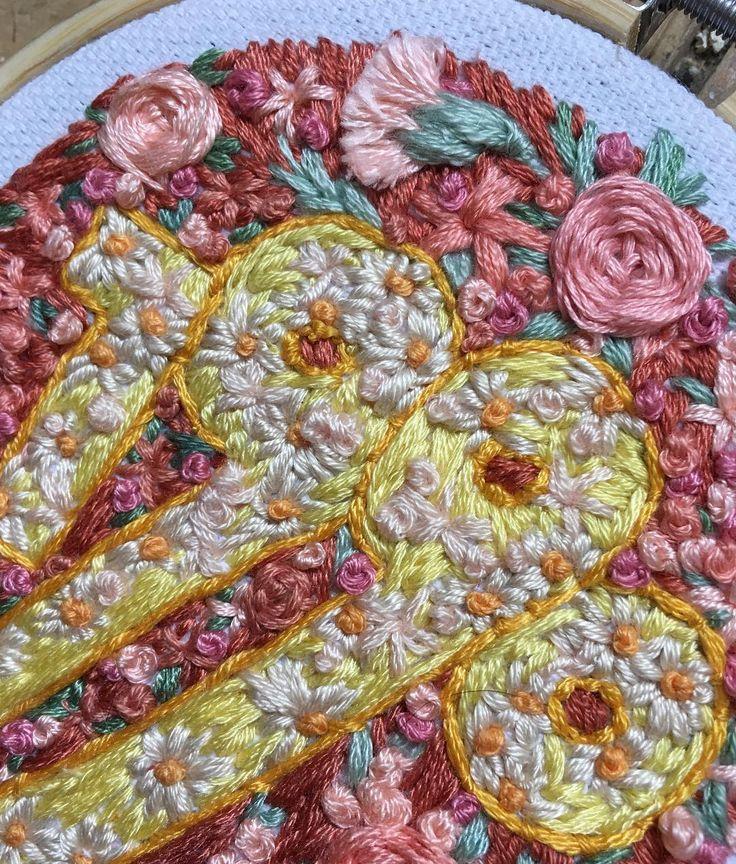 1,124 отметок «Нравится», 7 комментариев — 🇬🇧 Rachael (@usedthreads) в Instagram: «Floral anniversary gifts 🌷 1990. Custom years available on my etsy»