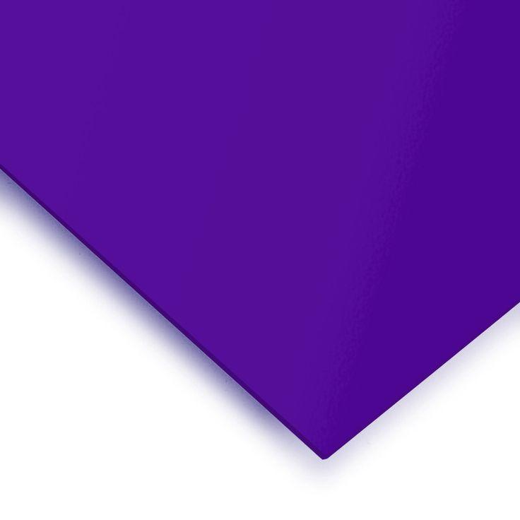 METACRILATO TRANSLÚCIDO VIOLETA - Gama de metacrilatos de colores translúcidos. En rojo sangre, azul tinta, nieve y violeta y de 3 mm de grosor.