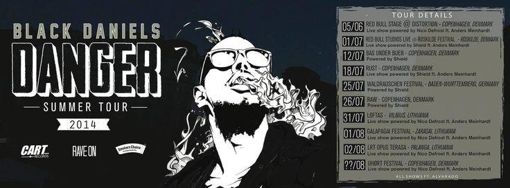Black Daniels Tour 2014