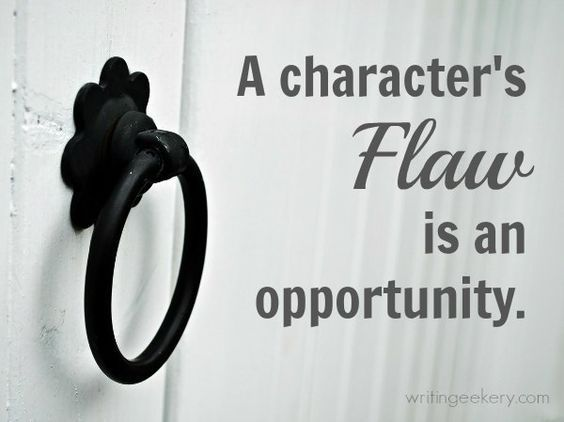 Writing The Perfect Flaw {in-depth article} Fantastic article! Great insights for writers, whether you're developing a character, writing your rough draft, or trying to wrestle your way through revisions.