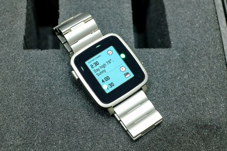 Pebble Time Steel is a dressed-up version of Pebble's latest watch | The Verge