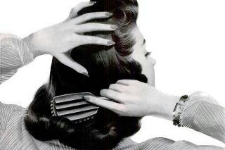 46 best images about 1920's - 1950's Fingerwaves and