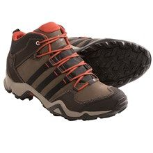 Adidas Outdoor Brushwood Mid Leather Hiking Boots (For Men) in Espresso/Black/Titan Grey - Closeouts